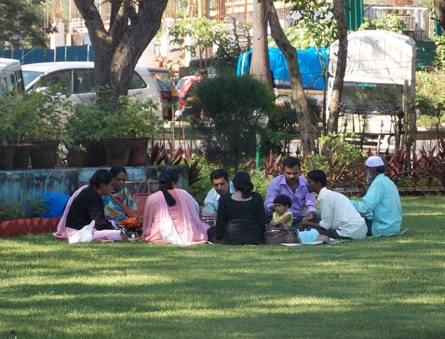 Семья в парке Панаджи