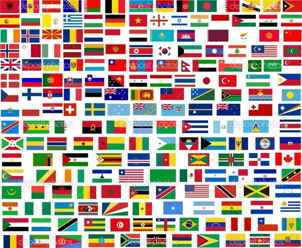 Флаги стран мира на сайте 3 возраста