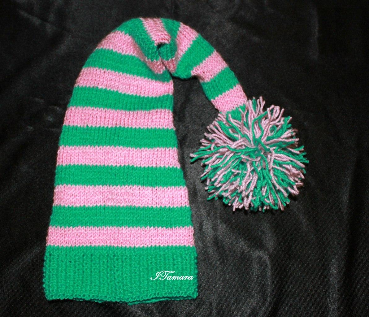 Вязание для детей шапки буратино