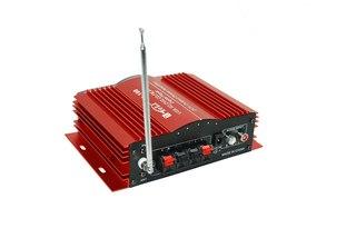 2х канальный Мото усилитель + USB/SD/Mp3/FM 12V.