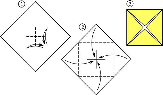 Часто в книгах об оригами даже