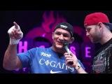 UFC 166 открытая тренировка Дос Сантоса