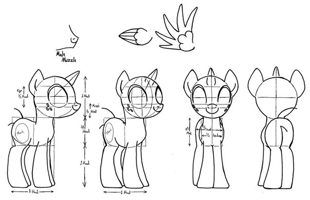 Учимся рисовать литл - пони видео урок