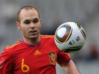 Иньеста: Евро-2012 будет намного сложнее мундиаля-2010