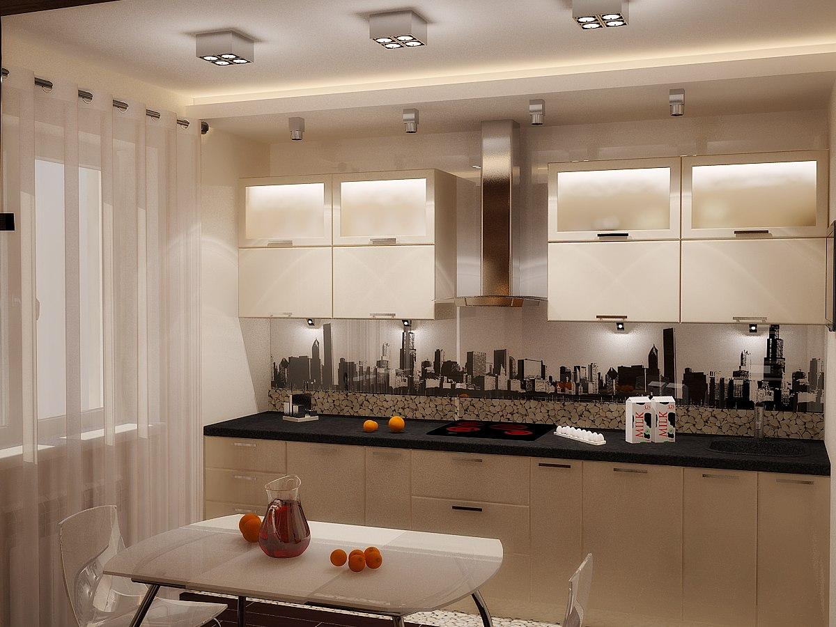 кухни современные фото в деревянных домах