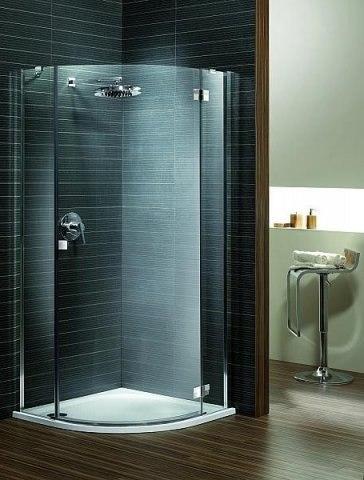 Kabina prysznicowa 1/4 koła 90x90