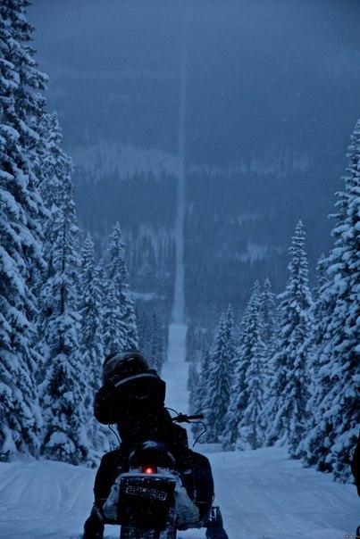 Граница между Норвегией и Швецией.
