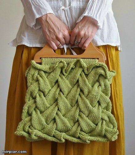 вязание сумки все про вязание
