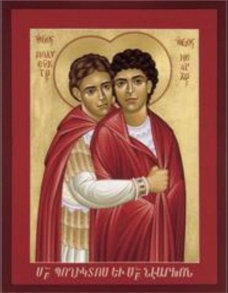 Святой Полиевкт был первым мучеником в армянском городе Мелитине.