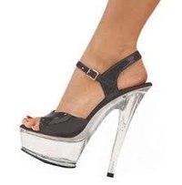 Туфли На Высоком Каблуке И Платформе На Дискотеку