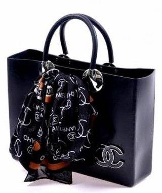 Хит лета 2012.  Chanel из НАТУРАЛЬНОГО каучука, в подарок - платочек.