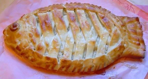 Как сделать пирог с рыбой и картошкой
