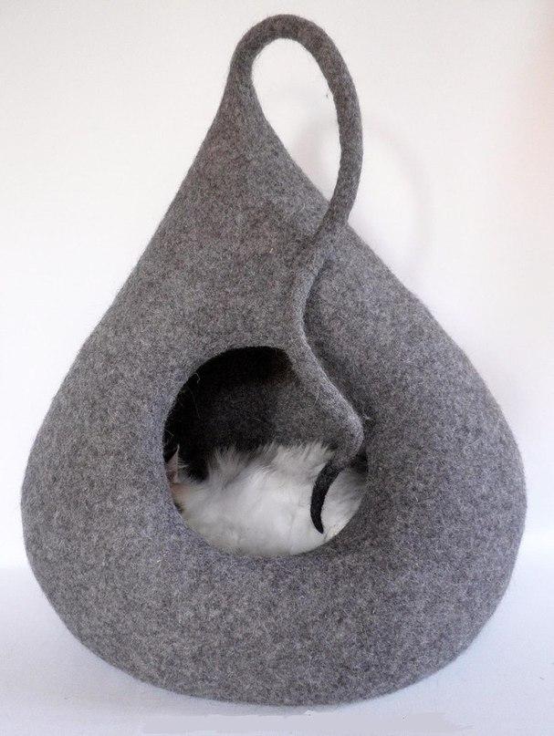 Гнездо для кошки своими руками
