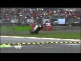 GP3 Samin Gomez and Adderly Fong Aibourne Crash Italian Grand Prix 2013