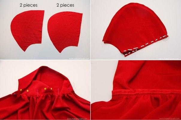 Костюмы красной шапочки фото своими руками