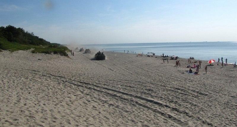 Случай на пляже