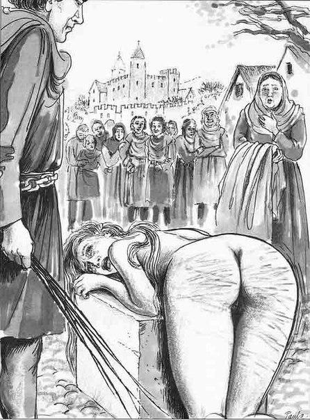 наказание ремнем по попе женщин