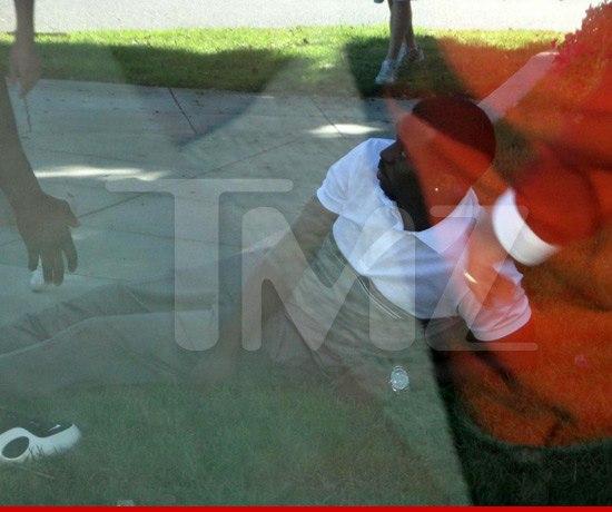 Diddy попал в автомобильную аварию в Лос-Анджелесе