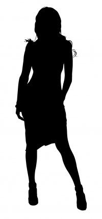 Что может быть красивее чем женский силуэт.  Плавные, нежные изгибы и линии.