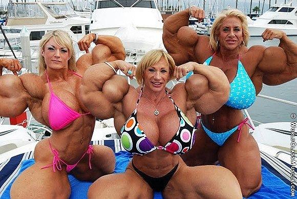 самый большой м женщина фото толька мускулисты очин фото большой