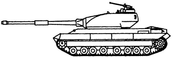 Броня танка монолитная, из