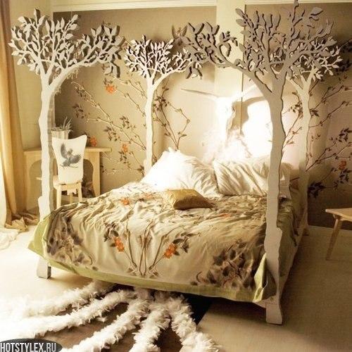Декорации для спальни девочки