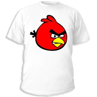 Купить футболку Красная птица. увеличить майку Красная птица.