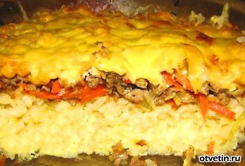 Блюда из риса и фарша рецепты