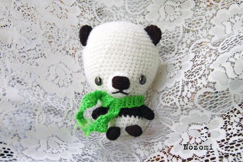 Амигуруми вязание крючком панда 221