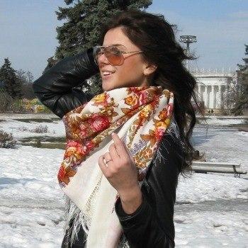 Павловопосадские платки одежда из vk