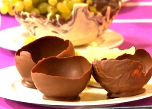 Как сделать шоколадный горшочек