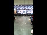 Фанат просит Стивена Огга озвучивающего Тревора в ГТА 5 покричать на него)