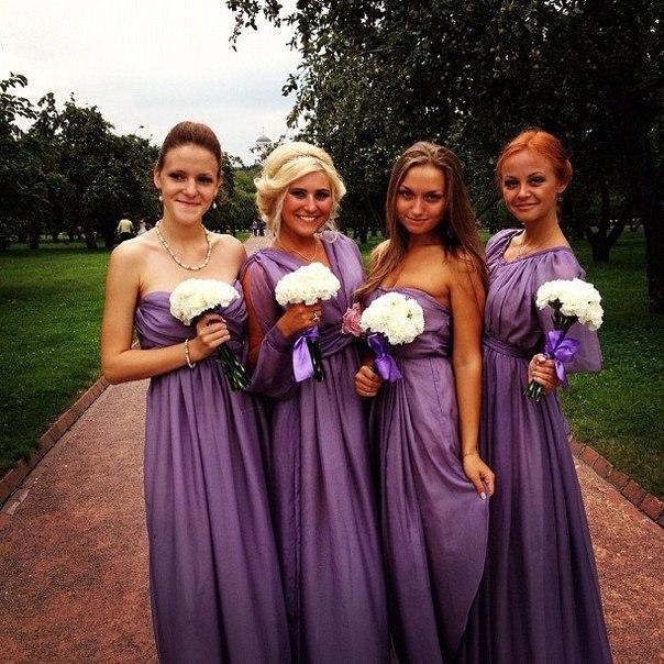 Платья дружкам на свадьбу