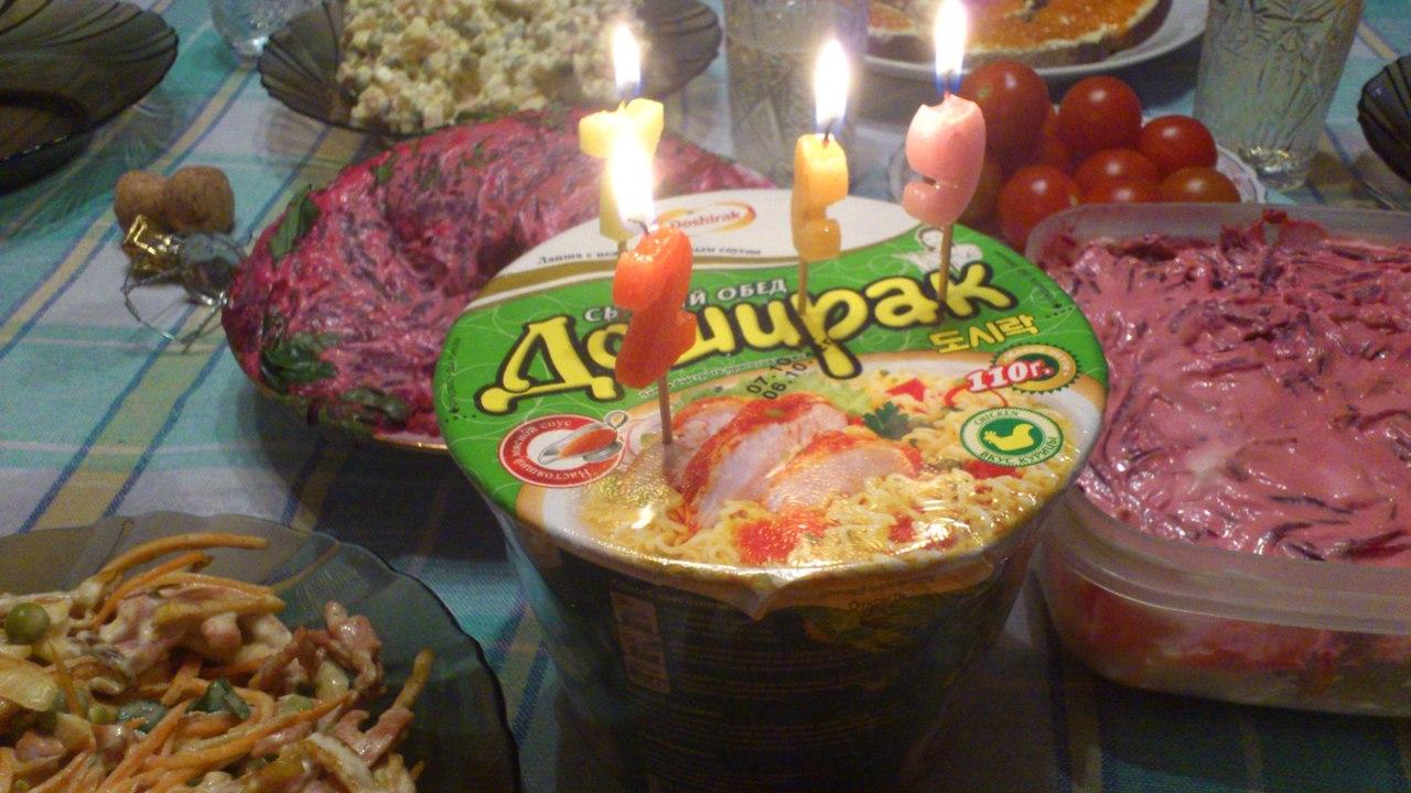 Поздравления с едой в дней рождение 923