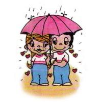 Гамма, 37 цветов.  Теги: чувства. зонт.