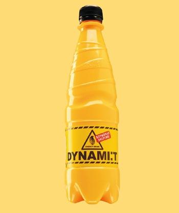 """...энергетический напиток  """"Dynami:t """". Его стоимость составляет 3..."""