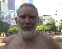 'Distasteful': The video also claimed this shirtless man was another of their...