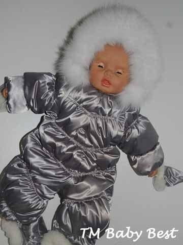 Зимний комбинезон своими руками фото