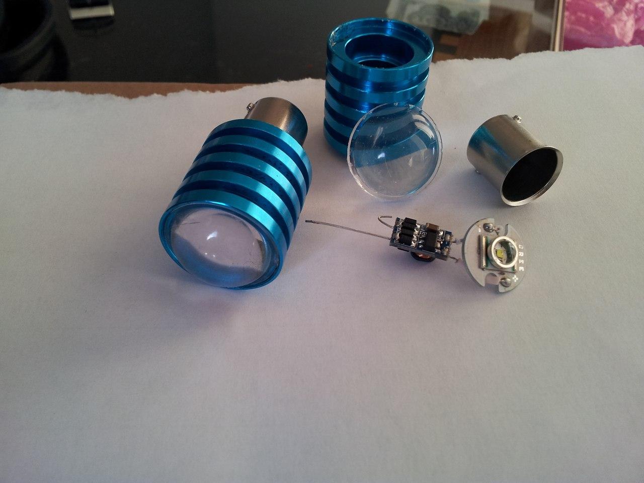 Светодиодные лампы на 6 своими руками
