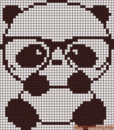 Эта панда напоминает мне моего