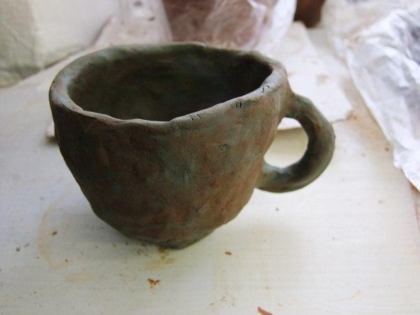 Посуда из глины мастер класс