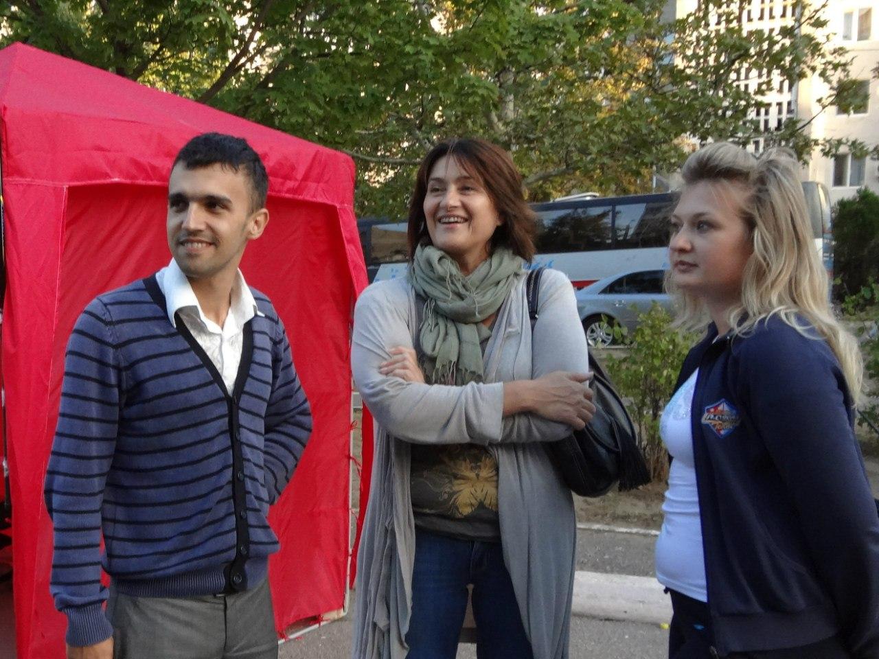 Ольга Герасимьюк желает узнать проблемы своего округа