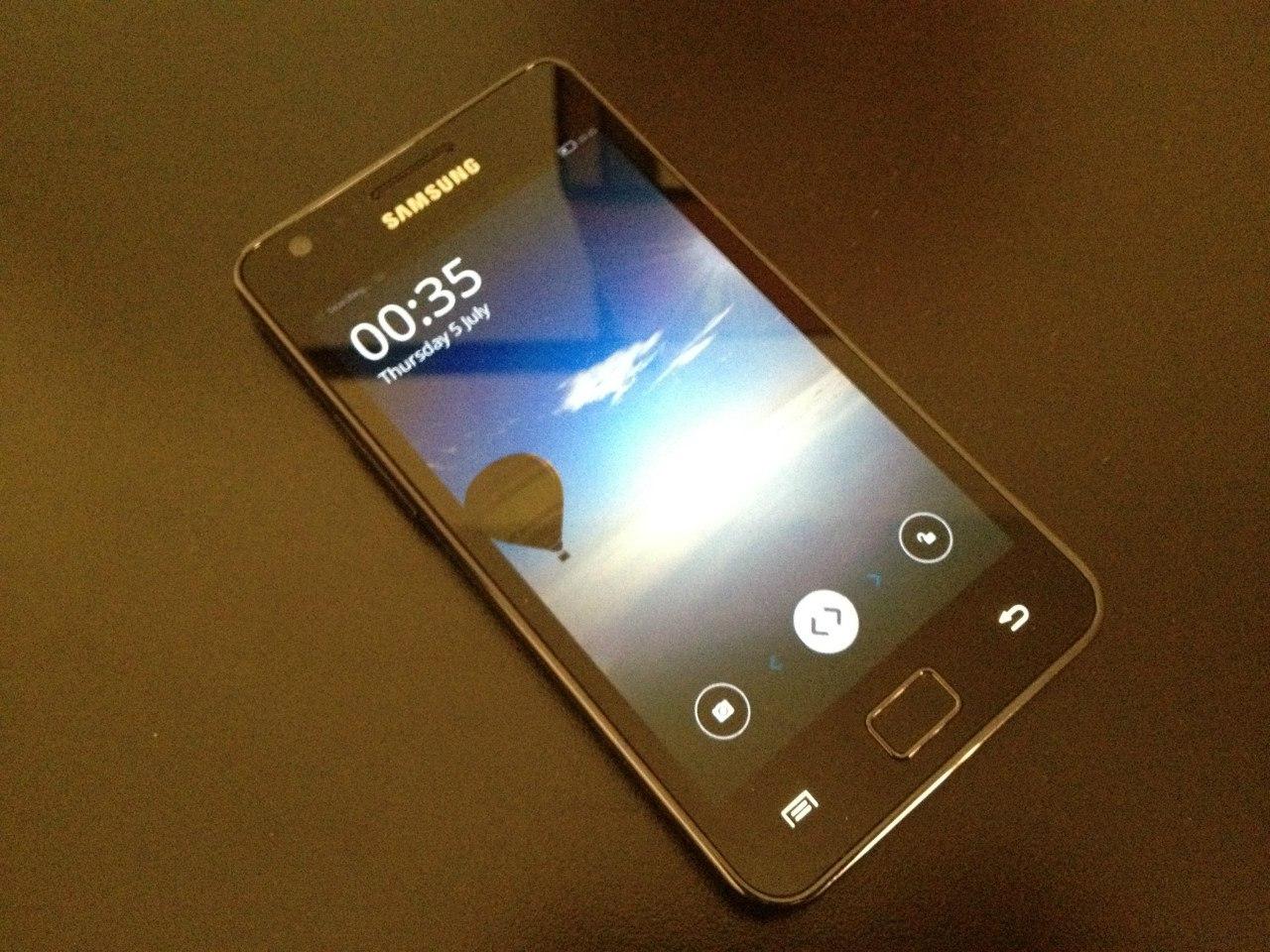 Samsung Galaxy S2 Firefox OS