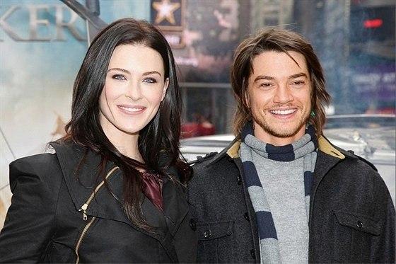 Bridget Regan and husband
