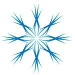 ожалуй, самая красивая снежинка - шестилучёвая звезда.  Её изображением зачастую символизируют...