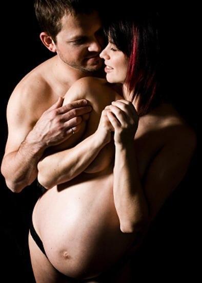 Секс во время беременности на больших сроках19