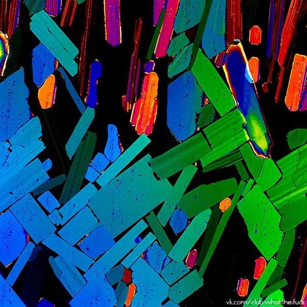 Алкоголь под микроскопом.