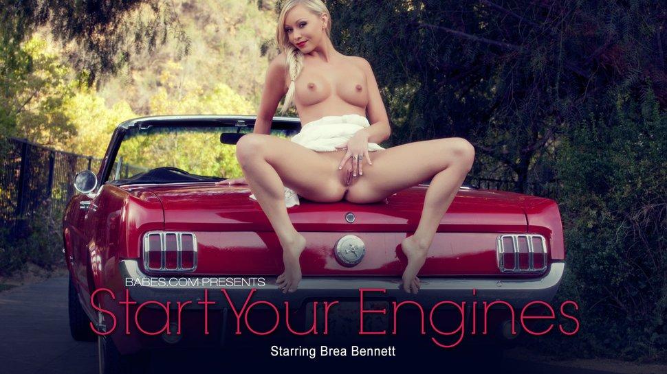 Brea Bennett Start Your Engines