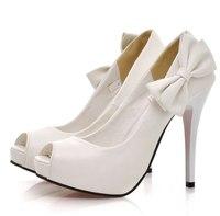 Белые Туфли На Каблуке