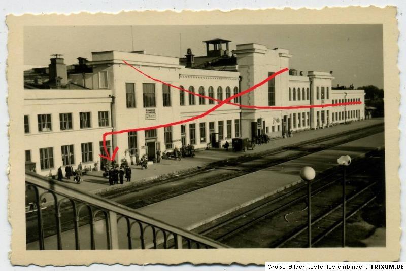Вінницький вокзал, 1941-43 рр.